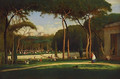 The Villa Borghese, Rome, 1871 - George Inness