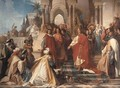 The Court of Emperor Frederick II in Palermo - Arthur Georges Baron Von Ramberg: