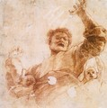 Study of God the Father (recto) - Raphael