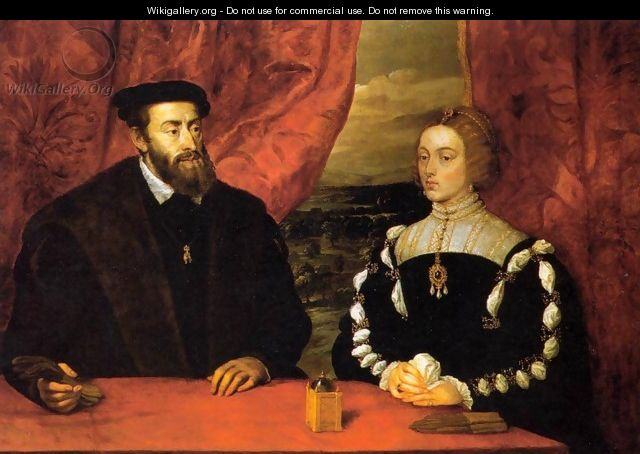 Charles V and the Empress Isabella - Peter Paul Rubens