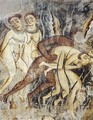 Last Judgment (detail) - Roman School