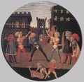 Game of Civettino (a Birth Salver) 2 - Giovanni di ser Giovanni Guidi (see Scheggia)