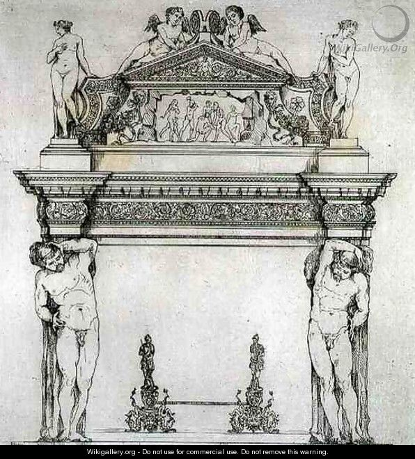 Fireplace from the Ambassadors