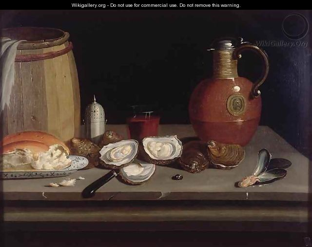 Still Life with Shellfish - Philips Angel