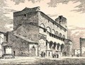 Palazzo Pubblico, Orvieto, Italy, from 'Examples of the Municipal, Commercial, and Street Architecture of France and Italy from the 12th to the 15th Century' - (after) Anderson, R.