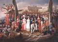 Ferdinand VII Disembarking in the Port of Santa Maria - Jose Aparicio