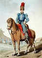 Cossack Officer - John Augustus Atkinson