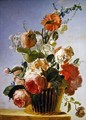 Still life with flowers - Jean Jacques Bachelier