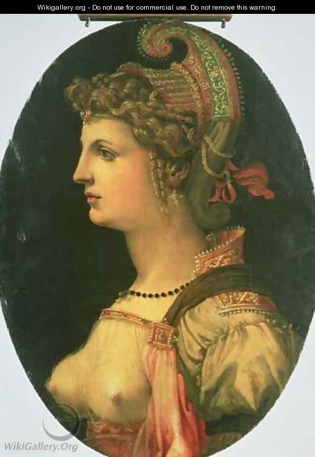 Portrait of Vittoria Colonna - Francesco Ubertini Verdi Bachiacca