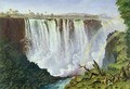 The Great Western Fall, Victoria Falls - Thomas Baines