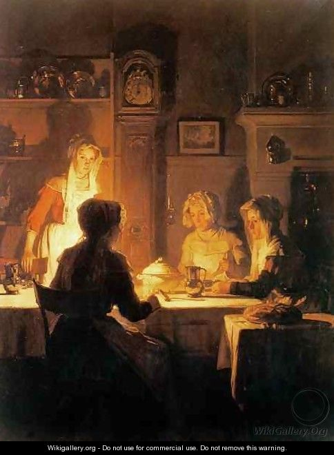 The Evening Meal - Joseph Bail