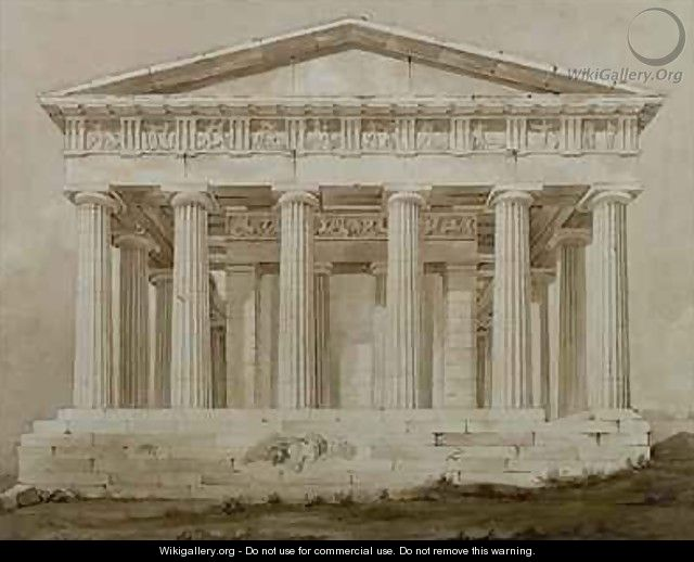 Temple of Hephaestus, Athens - Henry Bailey