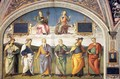 Famous Men of Antiquity (1) - Pietro Vannucci Perugino