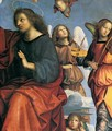 The Crowning of the Virgin (detail) 4 - Raphael