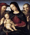 Madonna with Child and Saints - Raphael