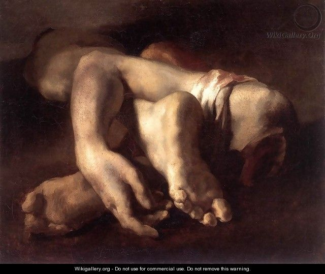 Study of Feet and Hands - Theodore Gericault