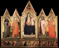 Virgin Enthroned with Saints - Lorenzo Di Nicolo Di Martino