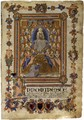 The Virgin of the Assumption - Italian Miniaturist
