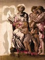 Virgin and Child with St John and Angels - Michelangelo Buonarroti