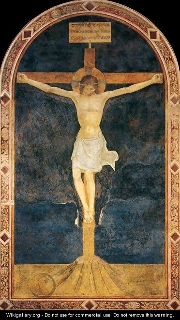 Crucified Christ - Angelico Fra