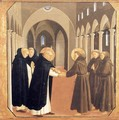 The Meeting of Sts Dominic and Francis of Assisi - Angelico Fra