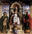 St Peter Enthroned with Saints - Giovanni Battista Cima da Conegliano