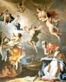 Pope Gregory the Great Saving the Souls of Purgatory 2 - Sebastiano Ricci