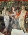 Creation of Eve and the Expulsion, detail - Paolo Uccello