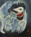 Flowers and Feathers - Marc Chagall (inspired by)