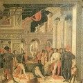 Removal of Body of Saint Cristopher - Andrea Mantegna