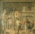 Martyrdom of Saint Christopher - Andrea Mantegna