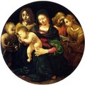 Madonna and Child with Saints and Angels - Piero Di Cosimo