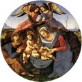 Holy Family with the Young Saint John the Baptist and Angels - Piero Di Cosimo