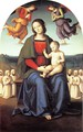 Madonna of the Confraternity of the Consolazione - Pietro Vannucci Perugino