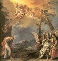 Abraham and Angels - Sebastiano Ricci