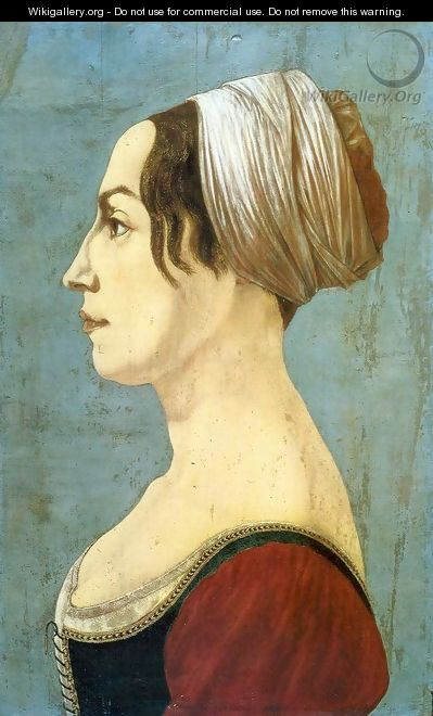 Portrait of a Woman - Piero del Pollaiuolo