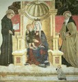 Madonna with Child and Saints Nicolas and Anthony the Abbott - Girolamo Giovanni