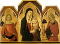 Madonna and Child with Saints - Bartolommeo Bulgarini