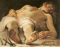 Dead Christ - Annibale Carracci