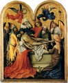 Triptych with the Entombment of Christ, central panel - Robert Campin