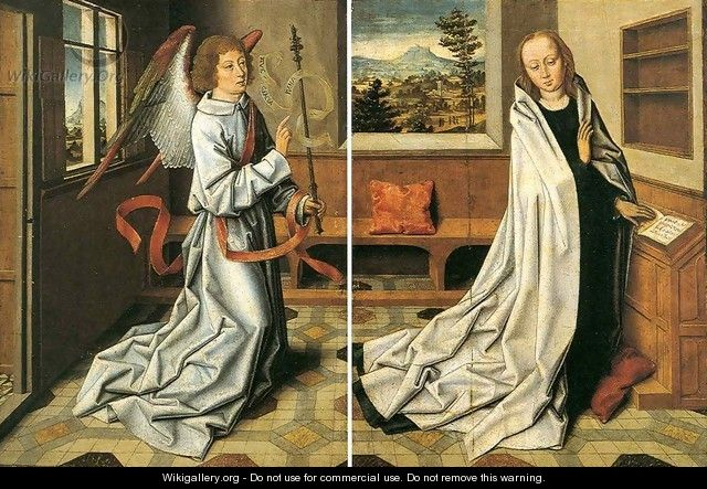 Annunciation of the Virgin - Aelbrecht Bouts