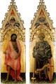 Polyptych Quaratesi St John the Baptist and St George - Gentile Da Fabriano