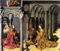 Annunciation, central panel - Barthelemy d' Eyck