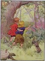 Hansel and Gretel, illustration from 'The Beautiful Book of Nursery Rhymes, Stories and Pictures' - Frank Adams