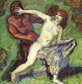 Tig game (Faun and Nymph) - Franz von Stuck