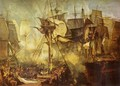 The Battle of Trafalgar, as seen from the from the Victory - Joseph Mallord William Turner