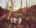 Early spring in the Vienna woods 2 - Ferdinand Georg Waldmuller