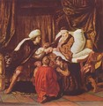 Jacob blesses Joseph's sons - Jan Victors