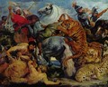 Tiger and lion hunting - Peter Paul Rubens