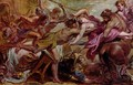 Rape of Hippodamia - Peter Paul Rubens